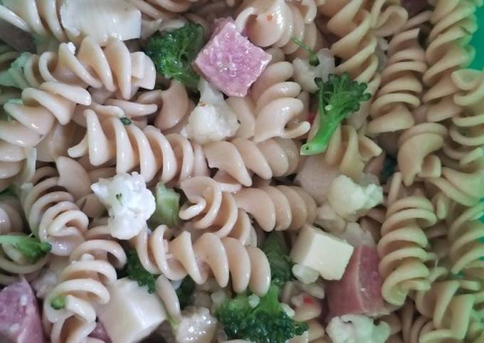 Zesty pasta