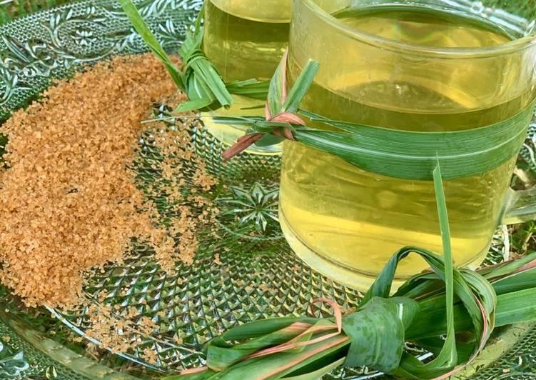 Steps to Make Homemade Lemongrass tea