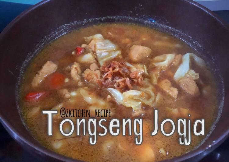 Tongseng ayam khas Jogja