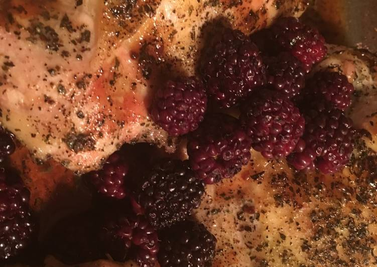Recipe of Any-night-of-the-week Blackberry Basil Chicken Breast
