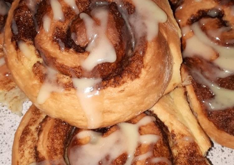 Resep Cinnamon Roll Super Fluffy Terbaik