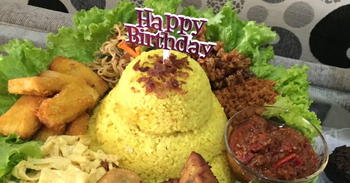 Resep Tumpeng Nasi Kuning Ulang Tahun Oleh Amanda Rachmawati Cookpad