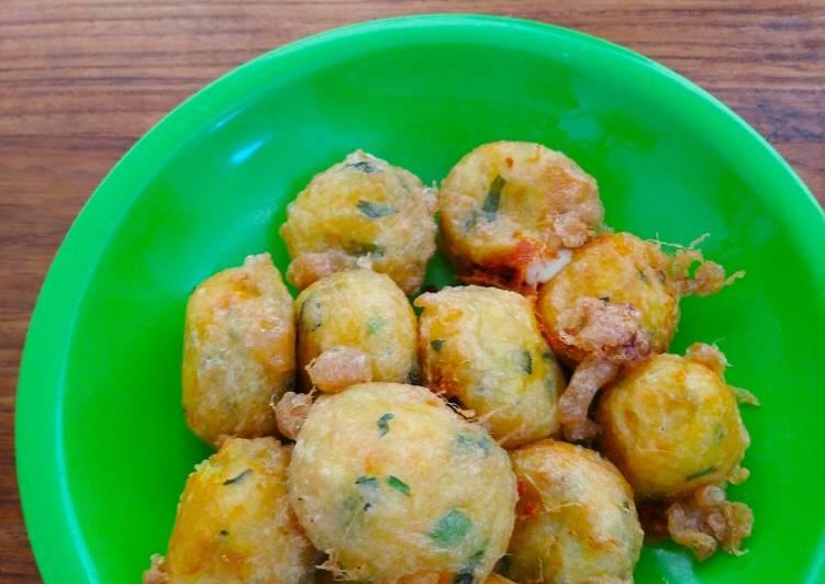 Perkedel kentang keju mozzarella