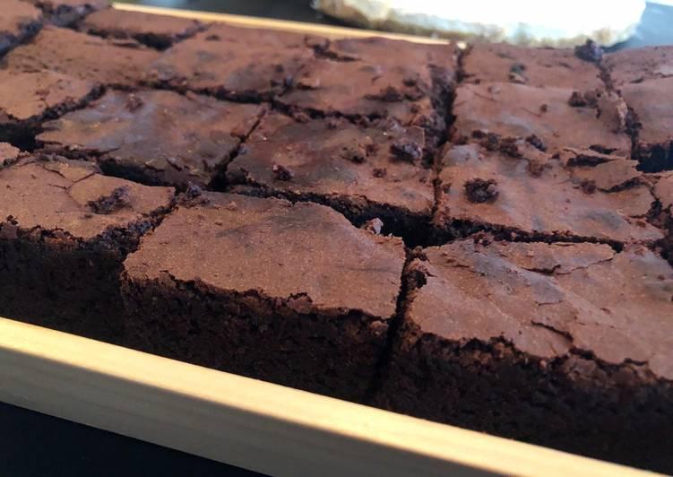 Super schokoladige Brownies