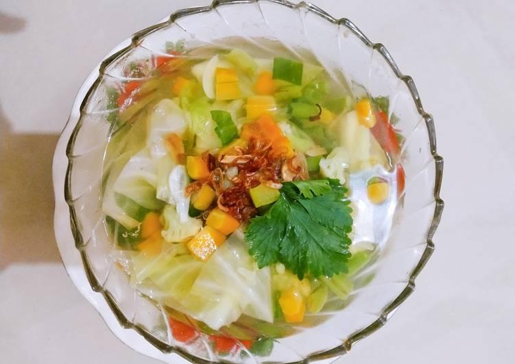 Sayur Sup Untuk buka puasa