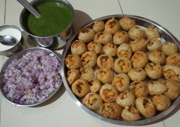 Simple Way to Make Super Quick Homemade Instant Pani puri