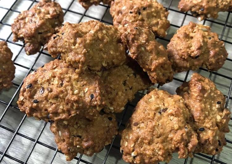 Oat coffee cookies