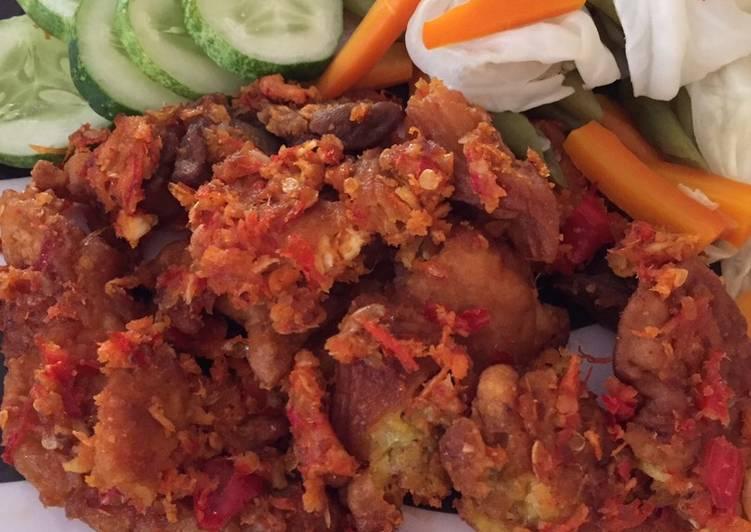 7 - Ayam geprek