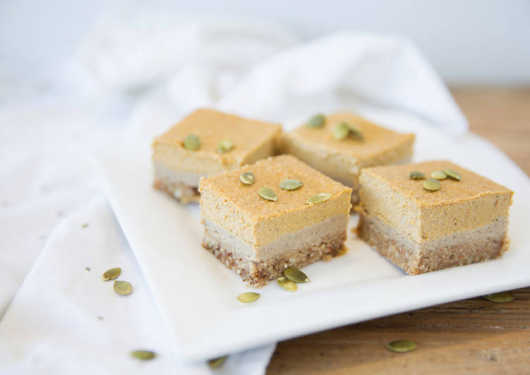 Recipe: Tasty Pumpkin Pie 'Cheesecake' Slice