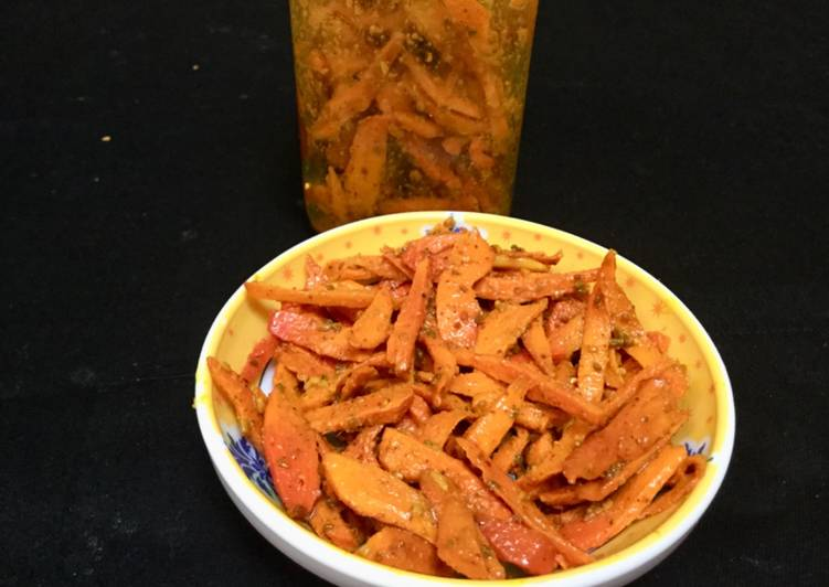 Old Fashioned Dinner Easy Super Quick Homemade Raw Turmeric Pickle