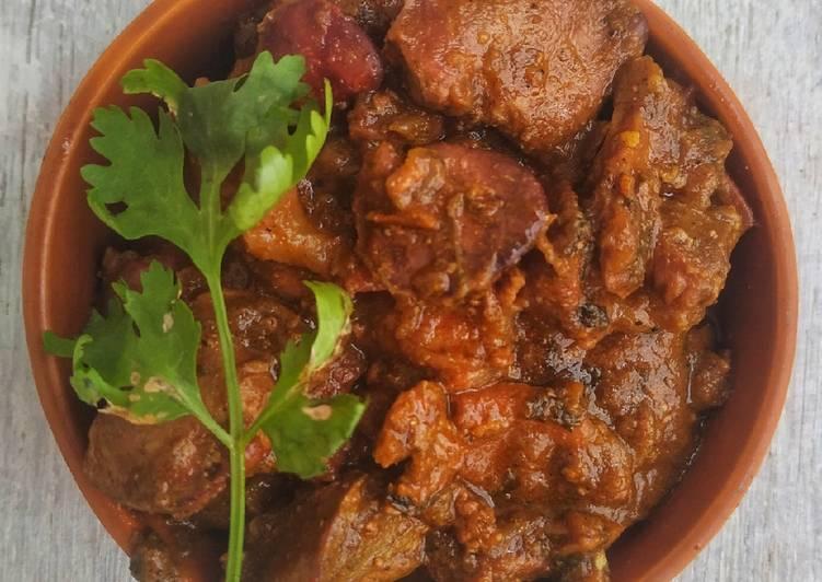 5 Minute Recipe of Spring Chicken Liver Kasha