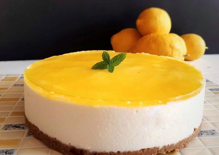 Ricetta Cheesecake al limone
