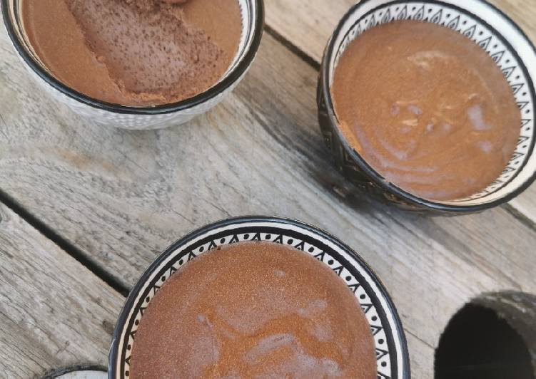 Délicieux Mousse au chocolat