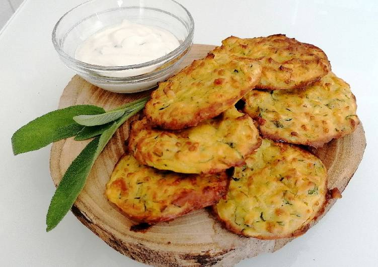 Ricetta Frittelle di zucchine al forno