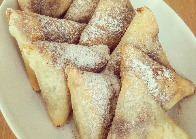 Apple Pie Samosa