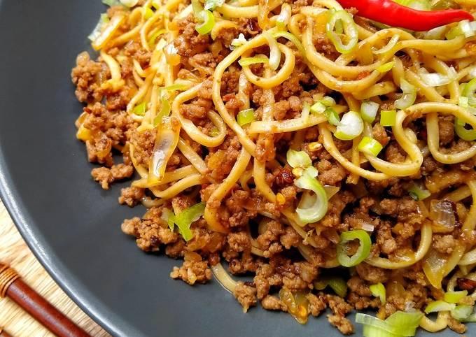 Beef Fire Noodles 🔥