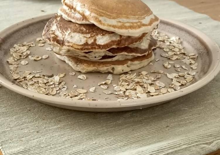 Comment faire Préparer Délicieuse Pancakes aux céréales
