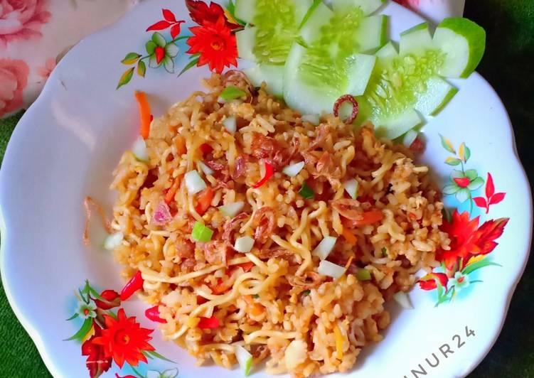 Nasi Goreng Magelangan Simple