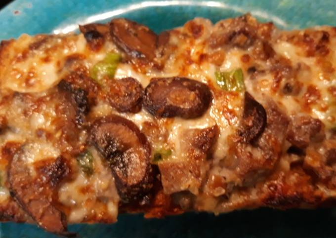 Recipe of Super Quick Homemade Cheesy Mushroom Toast