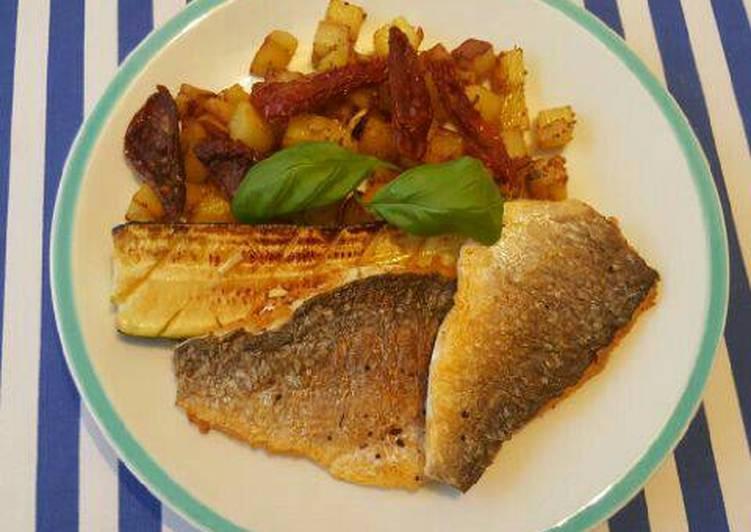 Ikan dorade panggang