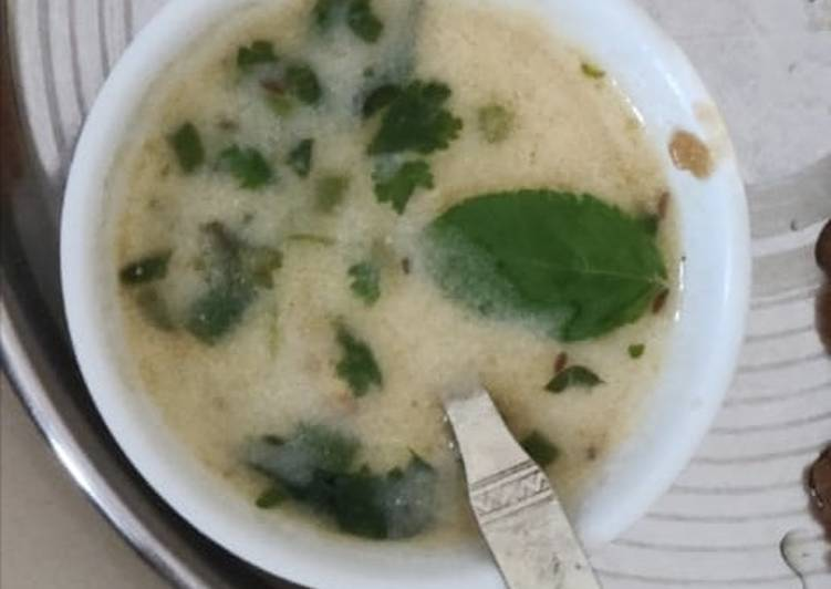 Easiest Way to Make Any-night-of-the-week Rajgara ni kadhi for fast