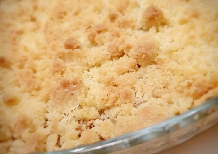 recette Crumble Aux Pommes 🍎 le délicieux