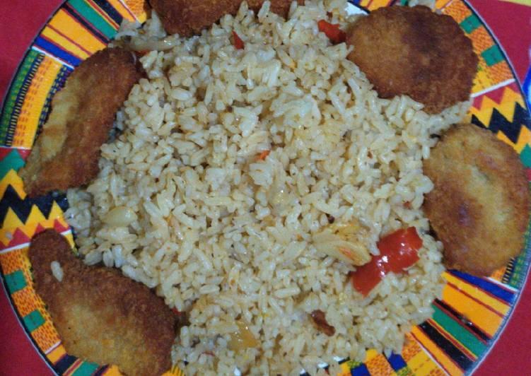 Nasi goreng rice cooker