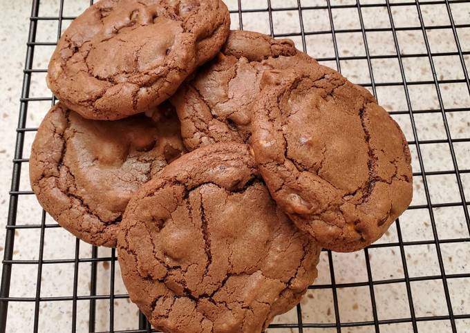 Recipe of Any-night-of-the-week My 3 Different Chips Double Chocolate Chip Cookies