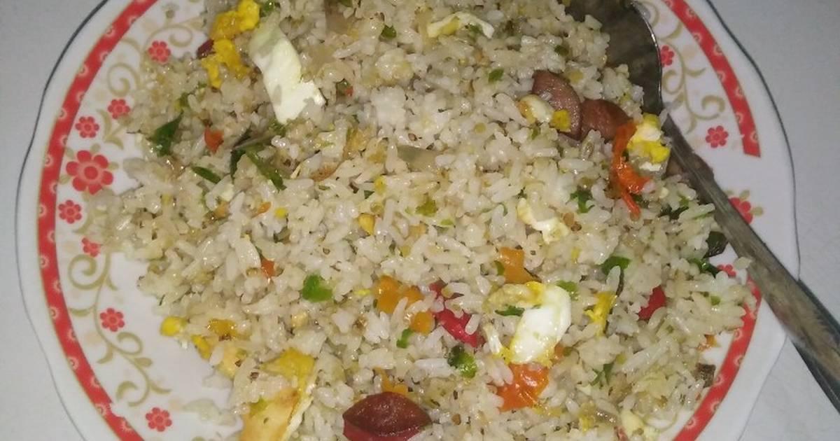 Resep Nasi Goreng Putih Pedas Simple Oleh Intan Cookpad