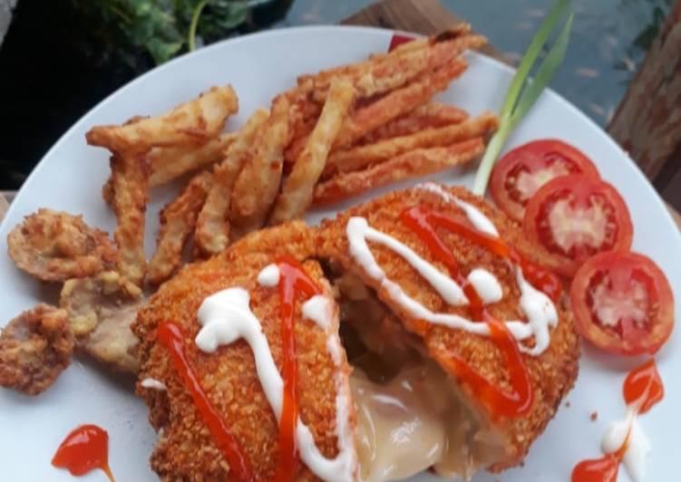 Chicken Cordon Blue Suka-Suka