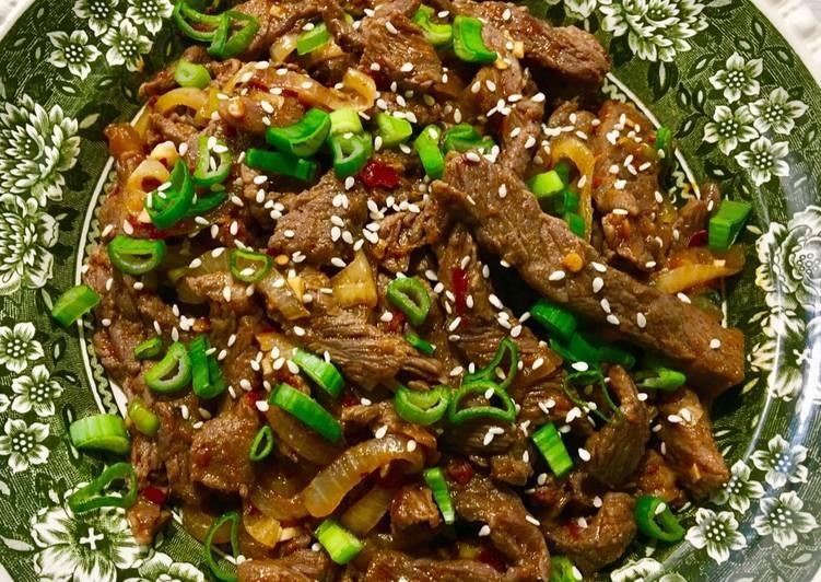 How to Prepare Super Quick Homemade Korean beef bulgogi
