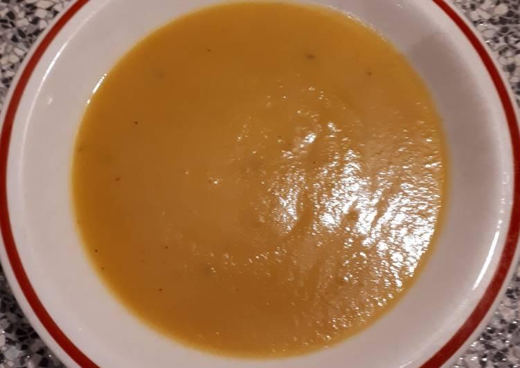 Ricetta Vellutata patate e zucca gialla