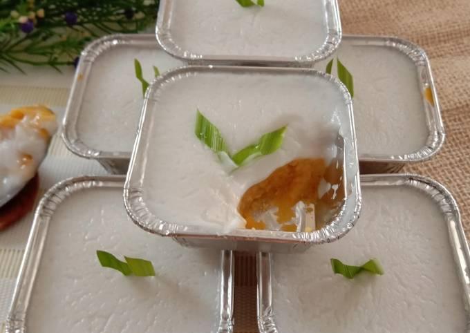 Bagaimana Membuat Kue Lumpur Surga Ubi Orange Anti Gagal