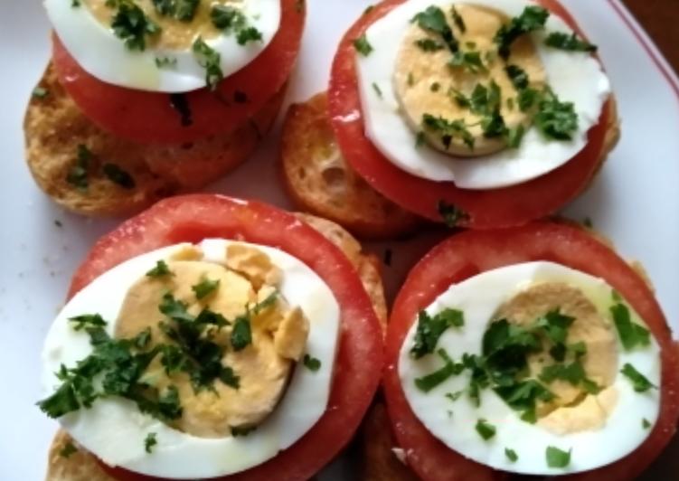 Tostadas con huevo