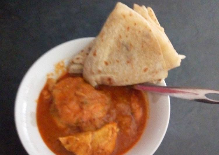 How to Prepare Speedy Butter Chicken and Roti