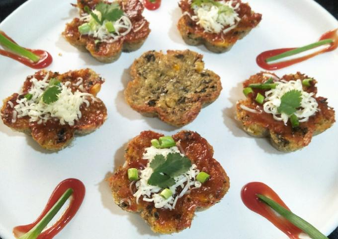 Recipe: Delicious Cheezy potato muffins