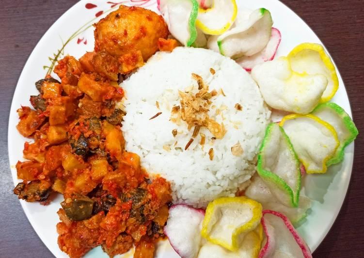 Sambal goreng ati kentang tahu - cookandrecipe.com