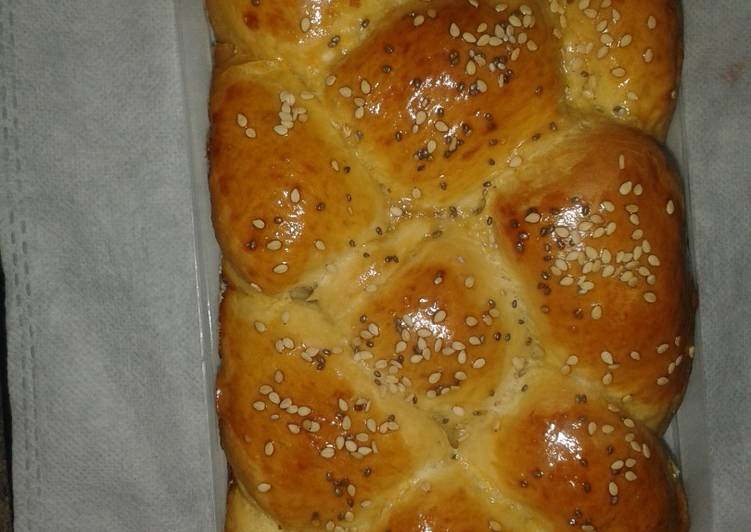 Challah Bread (Enriched Yeast Dough) # Festive Contest _ Mombasa )