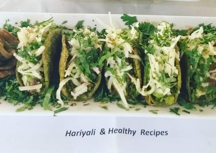 Hariyali Indian Tacos