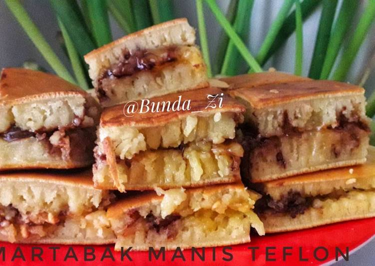 22. Martabak Manis Teflon Crispy (No mixer)