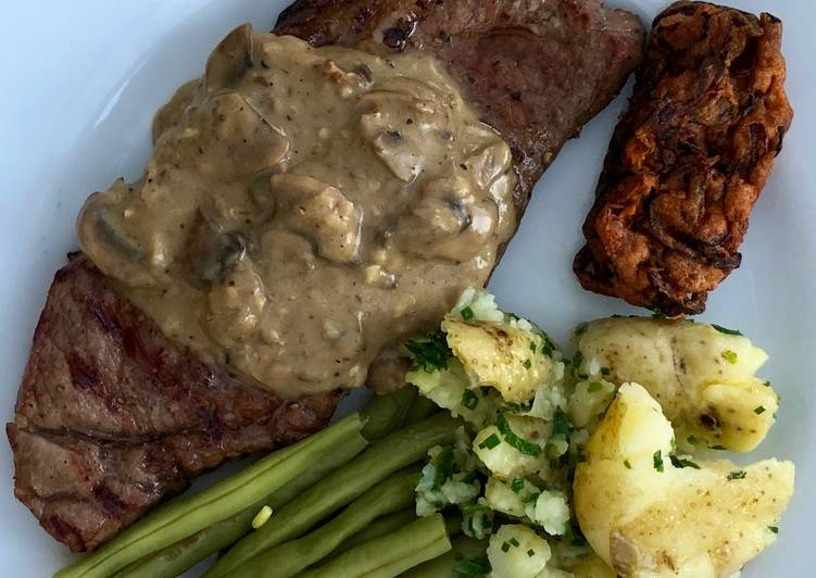 Steak, one of the tastiest you'll have #mcookbook