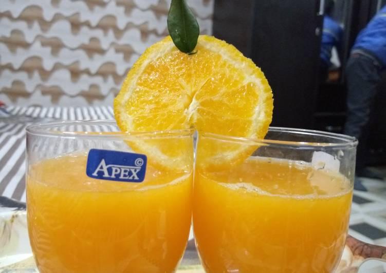 Simple Way to Prepare Award-winning Orange juice