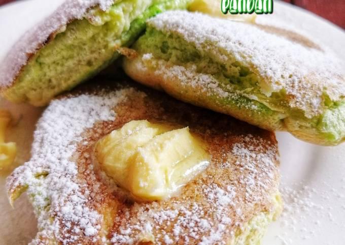 Japanese Souffle Pancake Pandan