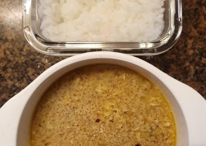 Sup daging tinggi kalori (booster bb)