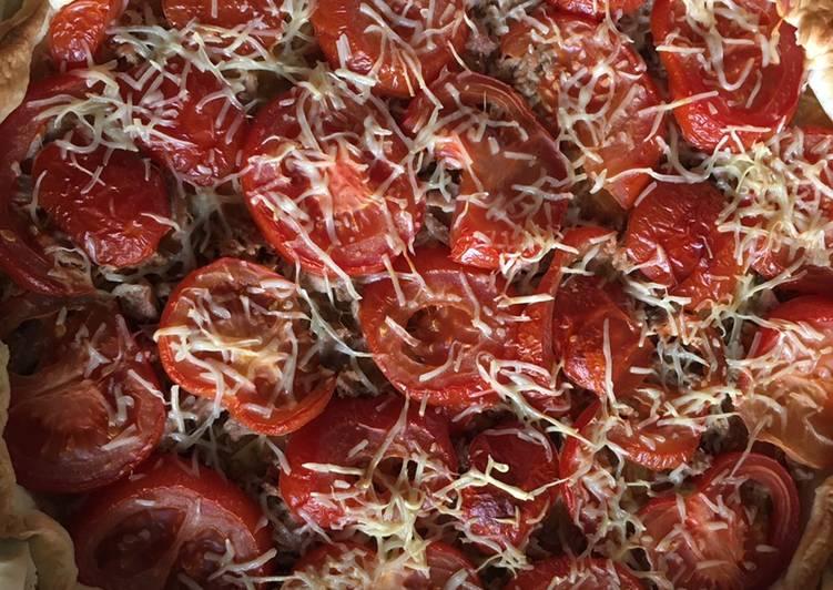 Façon la plus simple Cuisiner Délicieux Tarte thon tomate moutarde