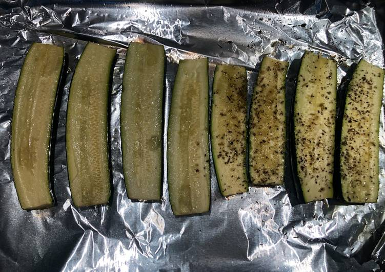 How to Prepare Appetizing Baked Zuchinis
