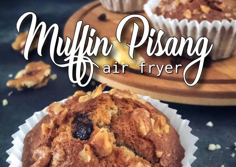 Muffin Pisang Air Fryer - resepipouler.com
