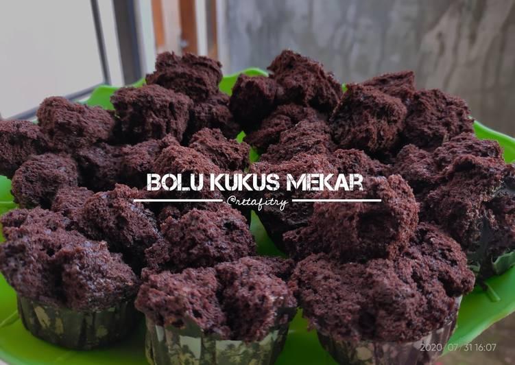 Bolu Kukus Mekar (No mixer & oven)