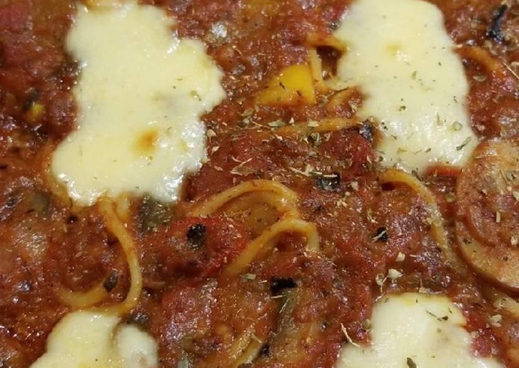 Recipe of Any-night-of-the-week Baked spaghetti