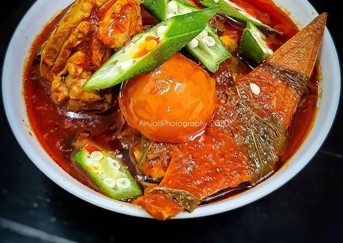 Asam Pedas Ayam Kebaboom